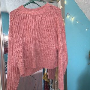 pink american eagle sweater 💓